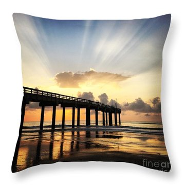 Throw Pillow featuring the photograph Presence by LeeAnn Kendall