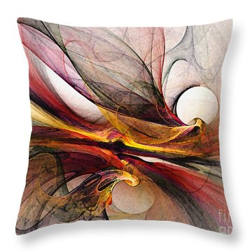Presentiments Throw Pillow