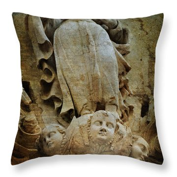 Presenting The Child Throw Pillow