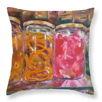 Preserves Spanish Market Throw Pillow