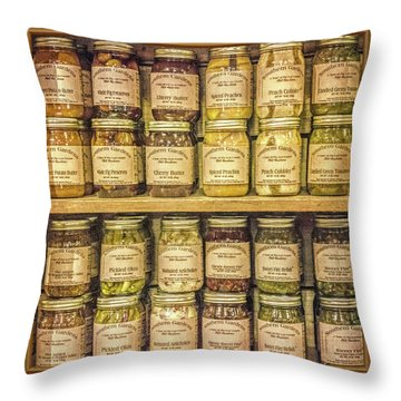 Preserves Throw Pillow