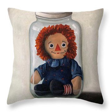 Preserving Childhood 2 Throw Pillow