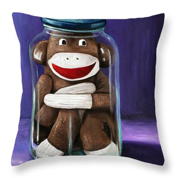 Preserving Childhood 3 Throw Pillow