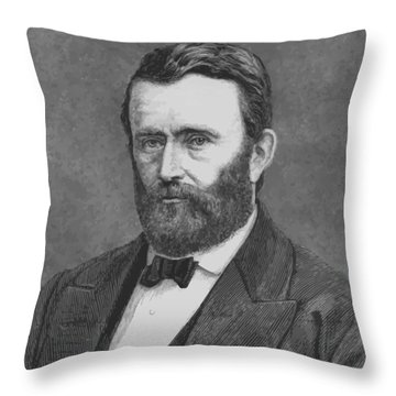 President Grant Throw Pillow by War Is Hell Store