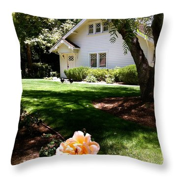 President Nixon Home  Richard Nixon Throw Pillow