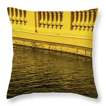 Presidential Palace Throw Pillow