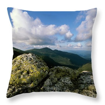 Presidential Range - White Mountains New Hampshire Throw Pillow