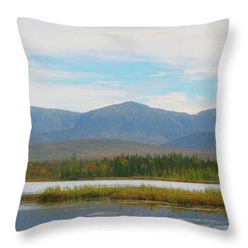 Presidential Range 2 Throw Pillow