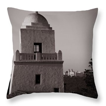 Presidio Of San Diego Throw Pillow