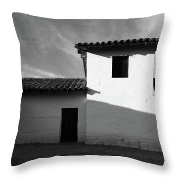 Presidio Shadows- Art By Linda Woods Throw Pillow