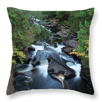 Throw Pillow featuring the photograph Presque Isle by Paul Schultz