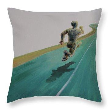 Press On Throw Pillow