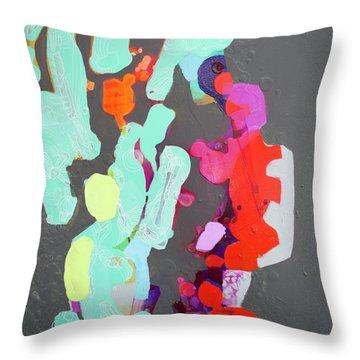 Press Resettled Throw Pillow