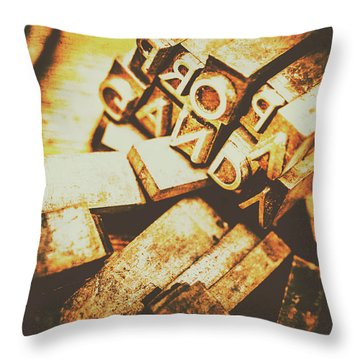 Pressing The Hegelian Dialectic   Throw Pillow