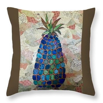 Pretend Pineapple Throw Pillow