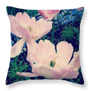 Pretty! ❤ #flowers #flower Throw Pillow