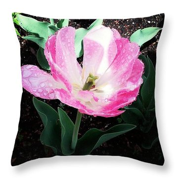Pretty! ❤ #flowers #flower #pink Throw Pillow