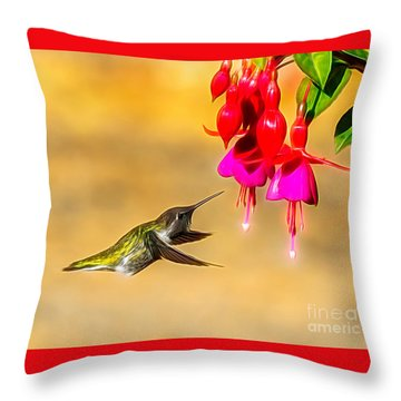 Pretty Anna Throw Pillow