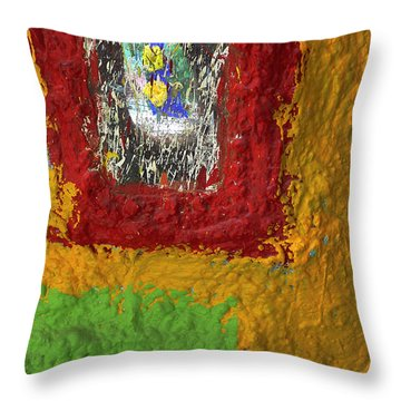 Pretty As A Picture Throw Pillow by Skip Hunt