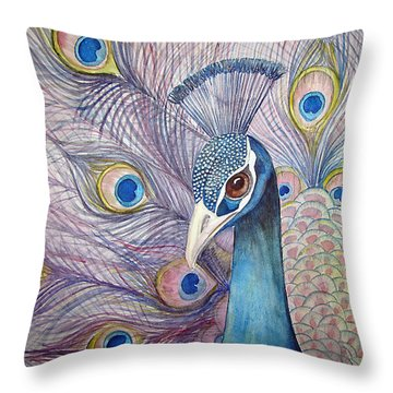 Pretty Boy Throw Pillow