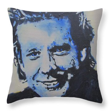 Pretty Boy Mickey Throw Pillow