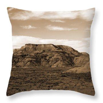 Pretty Butte Throw Pillow
