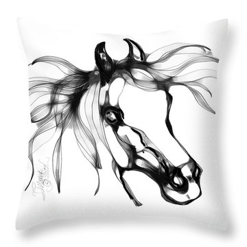 Pretty Filly's Ears Throw Pillow