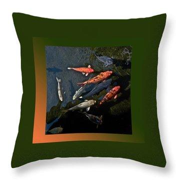 Pretty Fish Throw Pillow