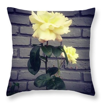 Pretty Flower #flower #nature #flowers Throw Pillow