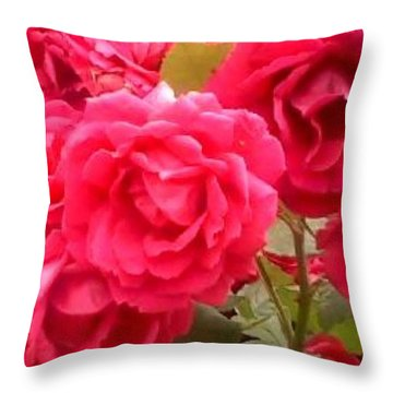 Pretty Flowers #flowers #nature #flower Throw Pillow