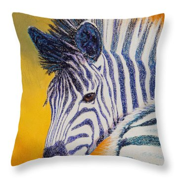 Pretty Girl Throw Pillow by Tracy L Teeter