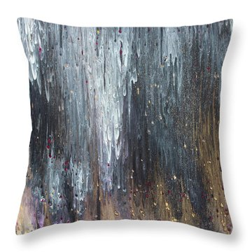 Pretty Hurts Throw Pillow by Cyrionna The Cyerial Artist