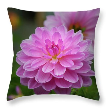 Pretty In Pink 1 Throw Pillow