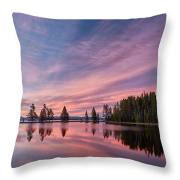 Pretty Is Pink Throw Pillow