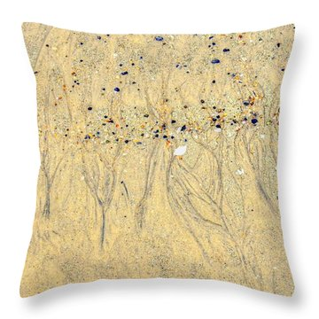 Pretty Pebbles Throw Pillow