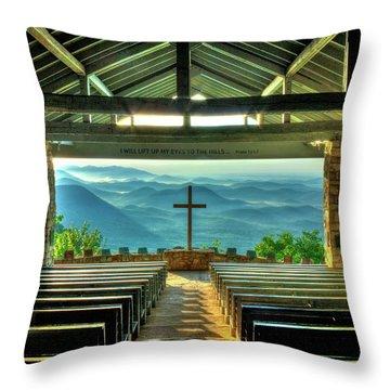 Pretty Place Chapel The Son Has Risen Throw Pillow by Reid Callaway