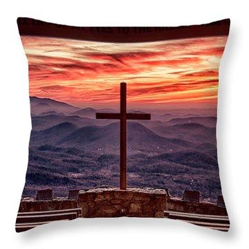 Pretty Place Sunrise Throw Pillow