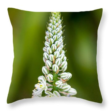 Pretty Pods Throw Pillow
