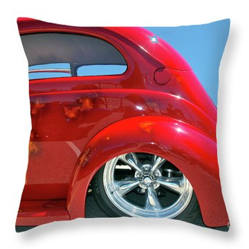 Pretty Rear Quarter Throw Pillow