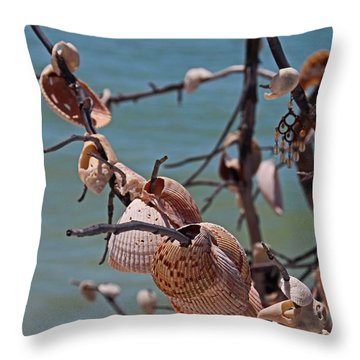 Throw Pillow featuring the photograph Previously Loved Treasures by Michiale Schneider