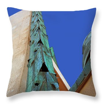Price Tower One Throw Pillow