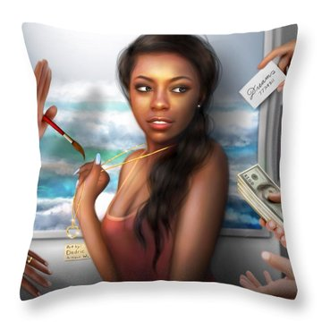 Priceless Throw Pillow