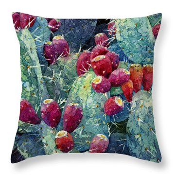 Prickly Pear 2 Throw Pillow