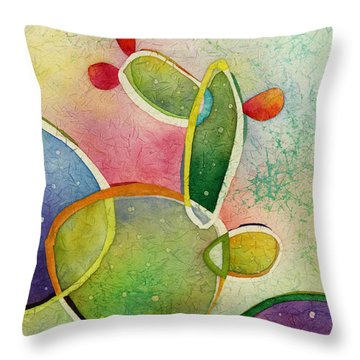 Prickly Pizazz 2 Throw Pillow by Hailey E Herrera