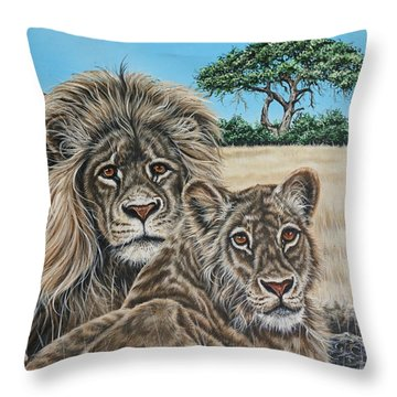 Pride 2 Throw Pillow