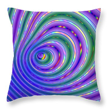 Pride Grooves 18 Throw Pillow