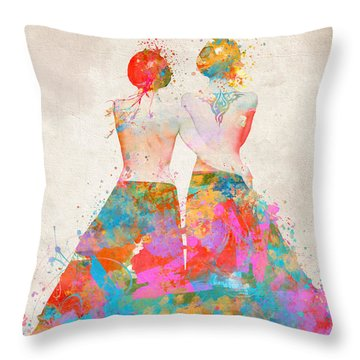 Throw Pillow featuring the digital art Pride Not Prejudice by Nikki Marie Smith