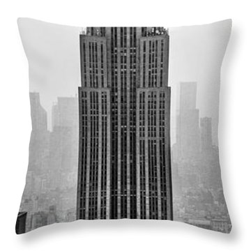 Pride Of An Empire Throw Pillow