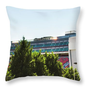 Throw Pillow featuring the photograph Pride Of Athens by Parker Cunningham