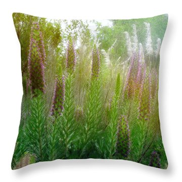 Pride Of Madeira Throw Pillow